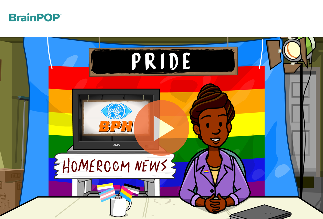 BrainPop Pride Month