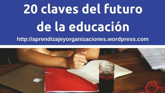 20 claves del futurode la educación