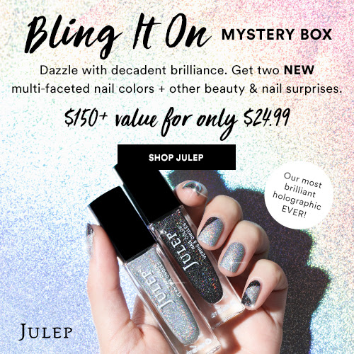 Julep: HOT OFFER! Bling It On Mystery Boxes just $24.99 Each