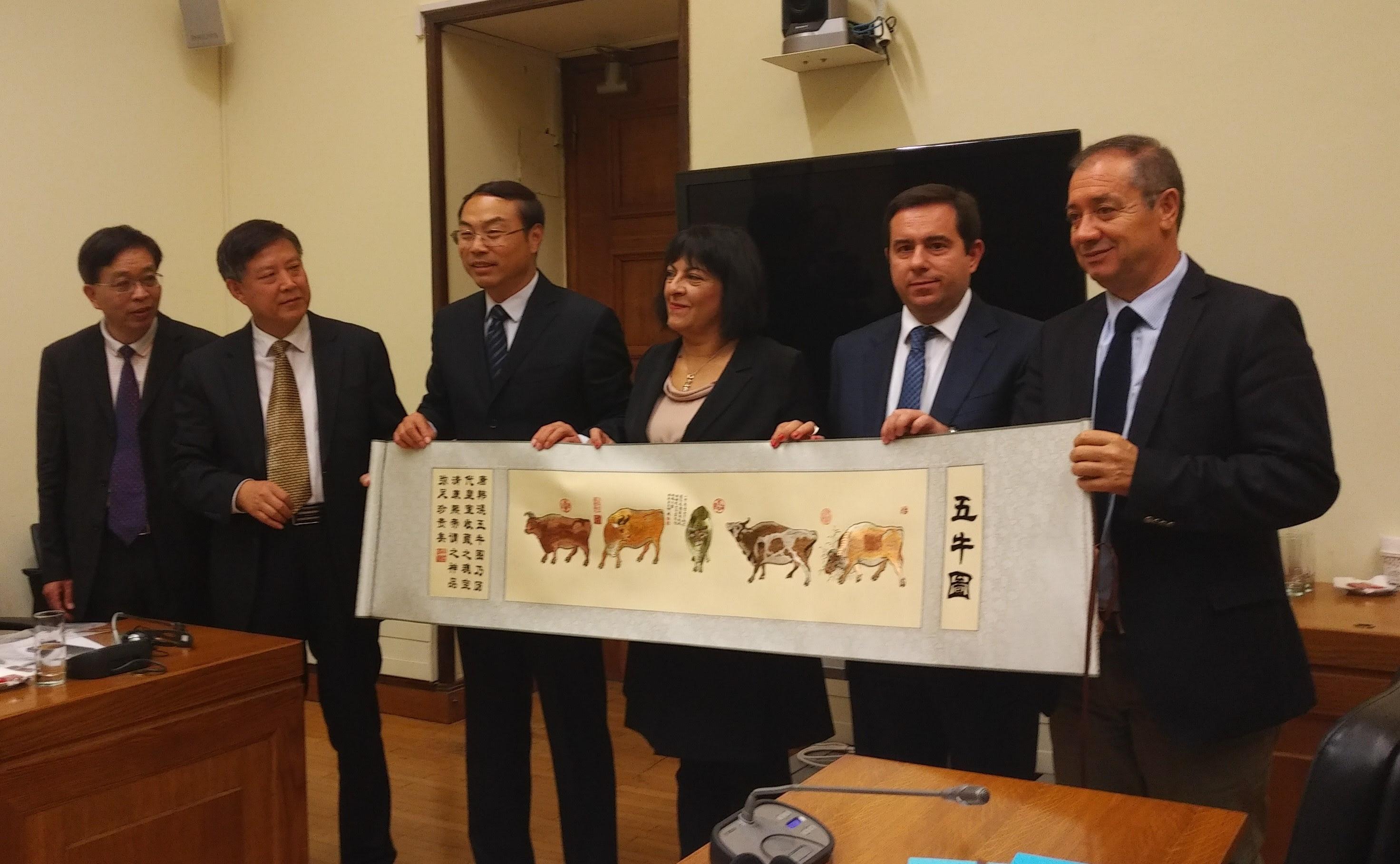 Συνάντηση Ν. Μηταράκη με τον Γενικό Γραμματέα της Βουλής της Επαρχίας Henan της Κεντρικής Κίνας κ. Ding Wei