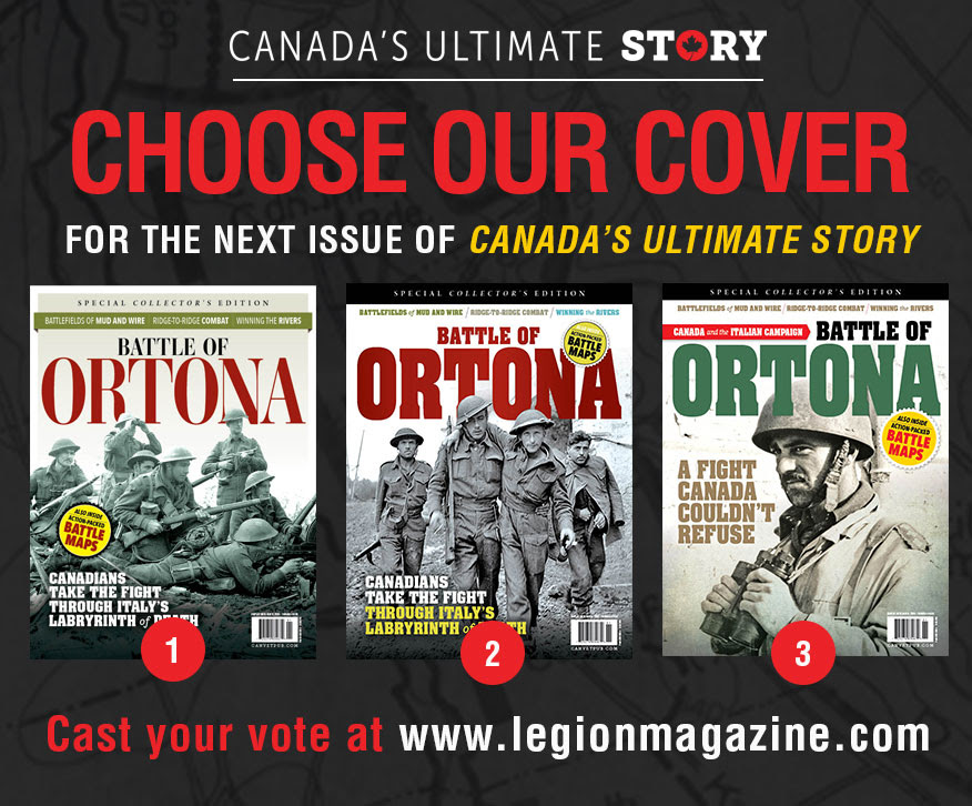 Choose our next cover for The Battle of Ortona