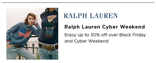 Ralph Lauren Best Black Friday Sales