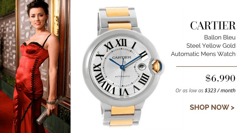 Cartier Ballon Bleu Steel Yellow Gold Automatic Mens Watch