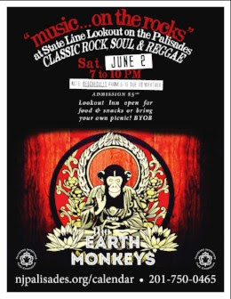 Music on the Rocks: The Earth Monkeys [RESCHEDULED]