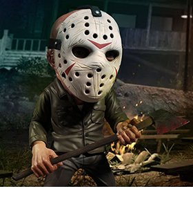FRIDAY THE 13TH DELUXE STYLIZED JASON FIGURE