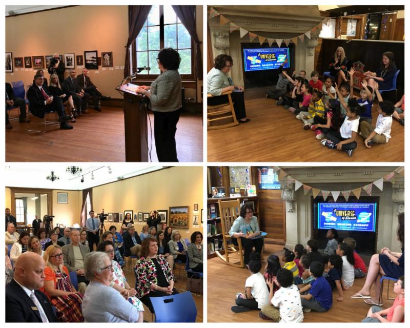 Commissioner Elia and Regent Hakanson launch Summer Reading program in Utica