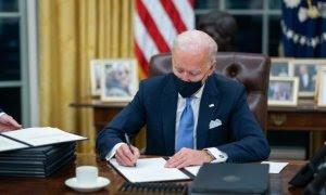 Biden se toma tiempo en política exterior