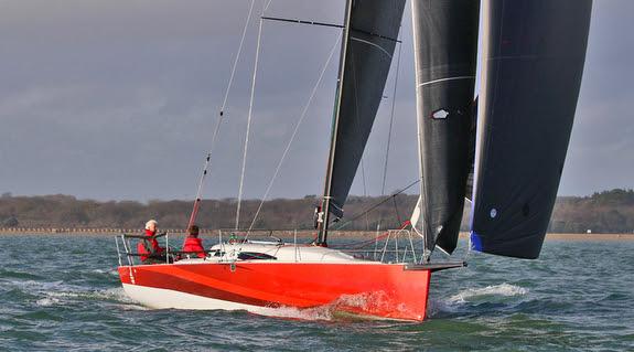 J/99 offshore shorthanded speedster