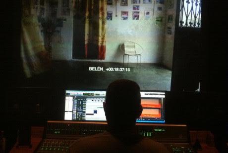 Proceso de montaje y sonido de 'Belen', de Adriana Vila