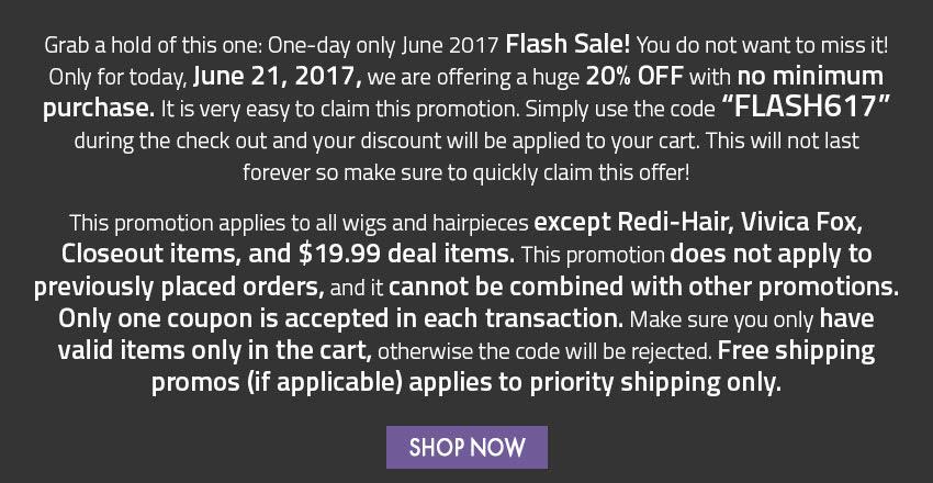 Flash Sale Info