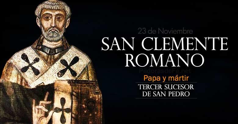 san clemente romano papa martir tercer sucesor de san pedro