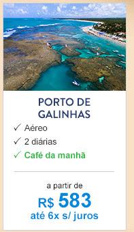 Porto de Galinhas / R$583