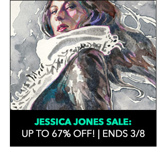 Jessica Jones Sale: up to 67% off! Sale ends 3/8.