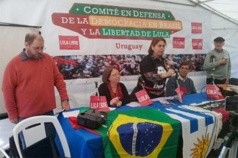 Hoy se presentó el Comité en Defensa de la Democracia en Brasil y la Libertad de Lula