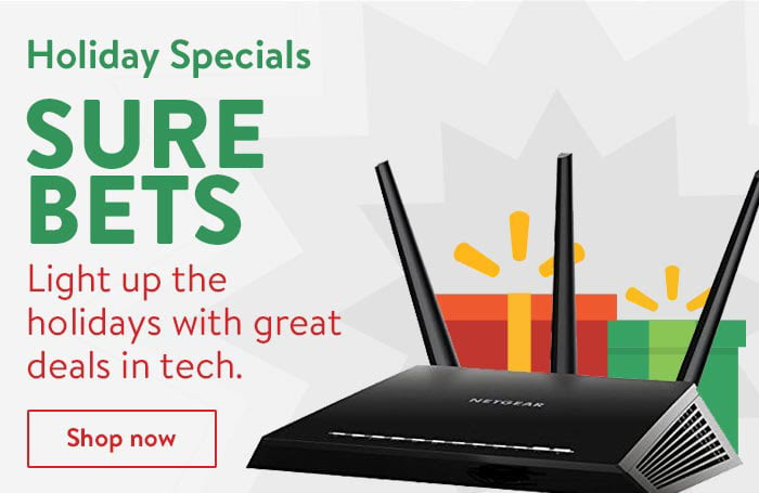 Light up the holiday with great deals in tech