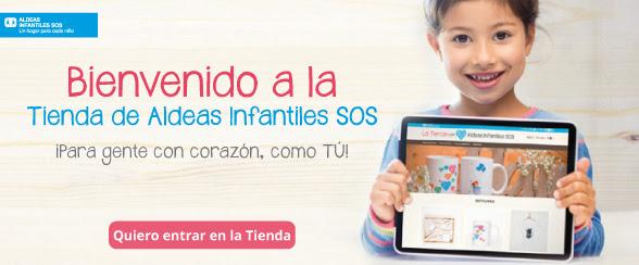 Tienda online solidaria de Aldeas Infantiles SOS