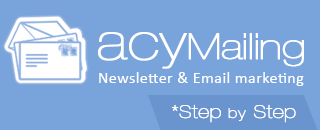 AcyMailing step by step