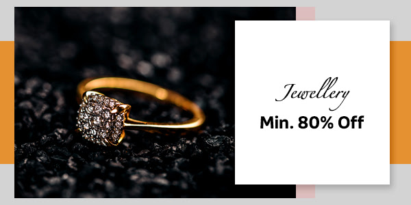 Jewellery at Min.80% Off