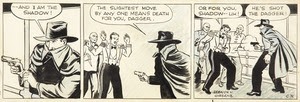 The Shadow Comic Strip