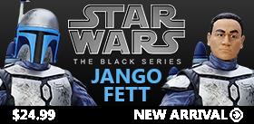 STAR WARS BLACK 6 INCH JANGO FETT