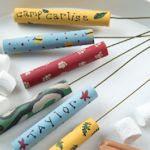 DIY Roasting Sticks.
