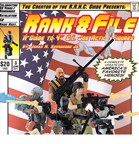 G.I. JOE RANK & FILE GUIDE BOOKS