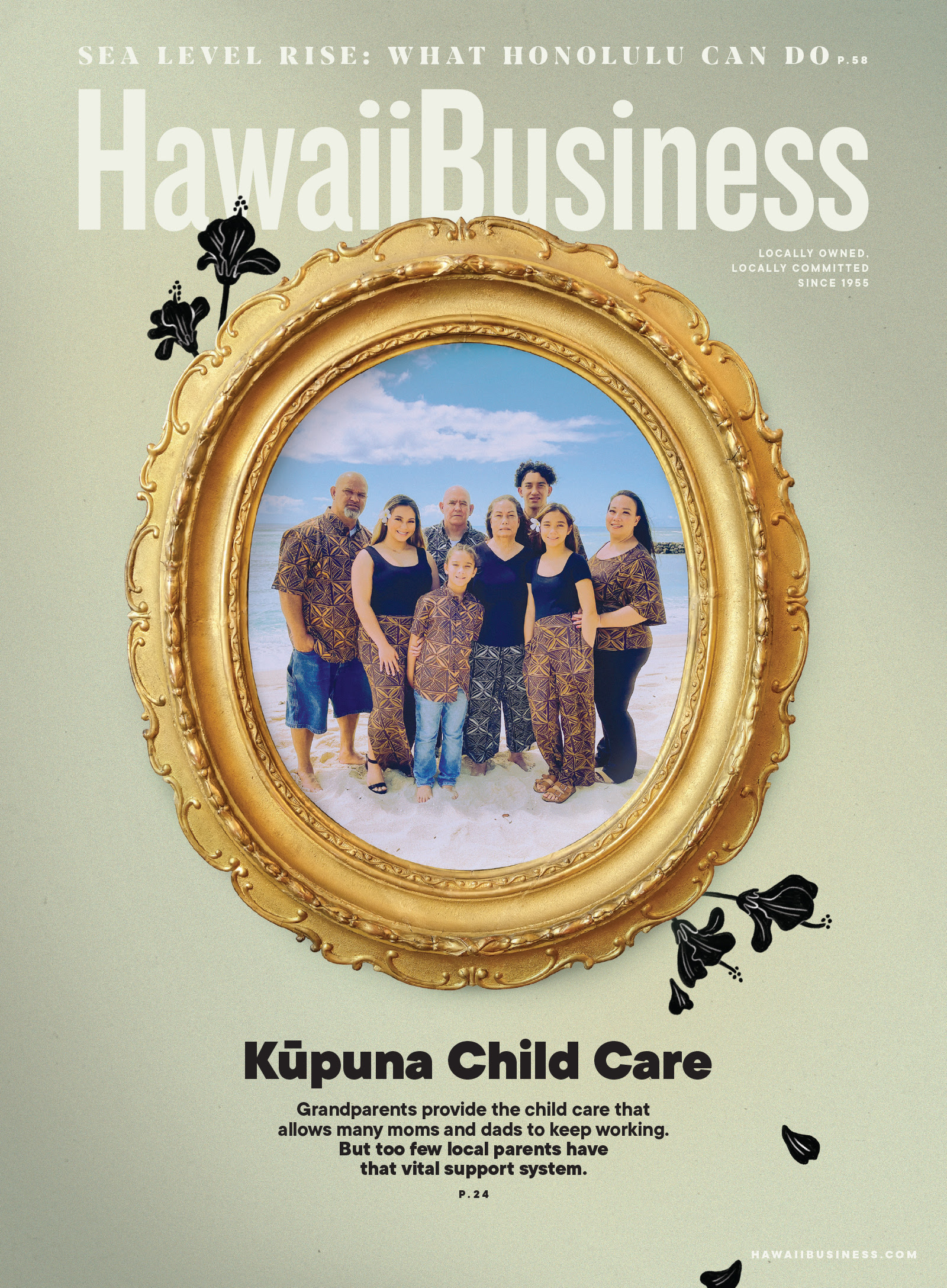 Click here to get your copy of Hawaii Business' October 2021 issue!