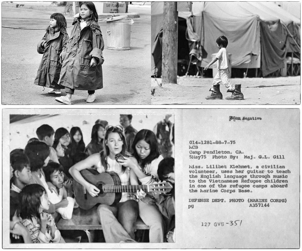 Người tị nạn ở Camp Pendelton, không phải lều 67. Nguồn: DCVOnline tổng hợp.