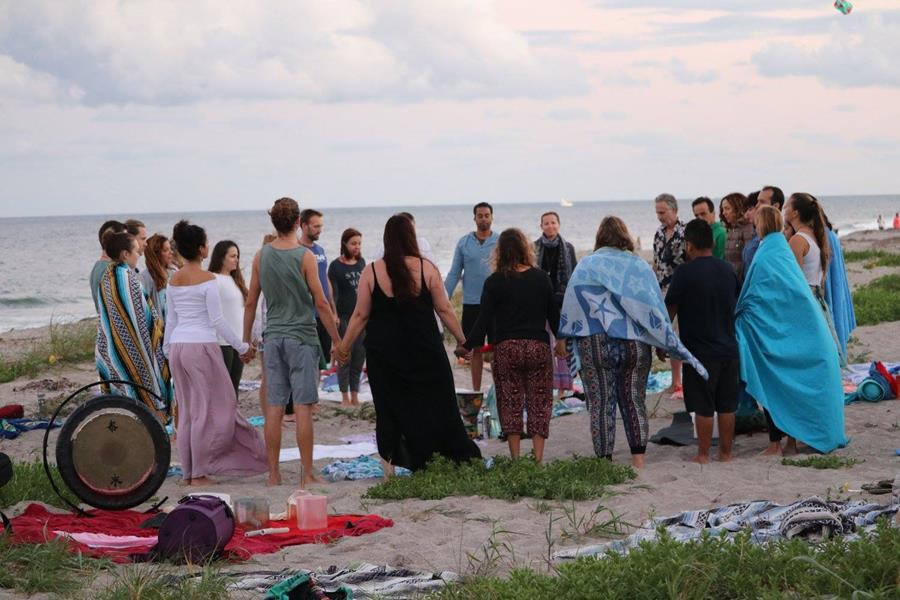 Water Ceremony Image: Jupiter Beach
