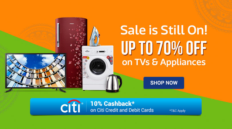 Up to 70% Off on Large and Appliances