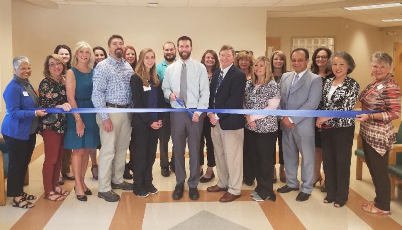 Ribbon Cutting for Dr. Bunn at Fannin Regional Hospital