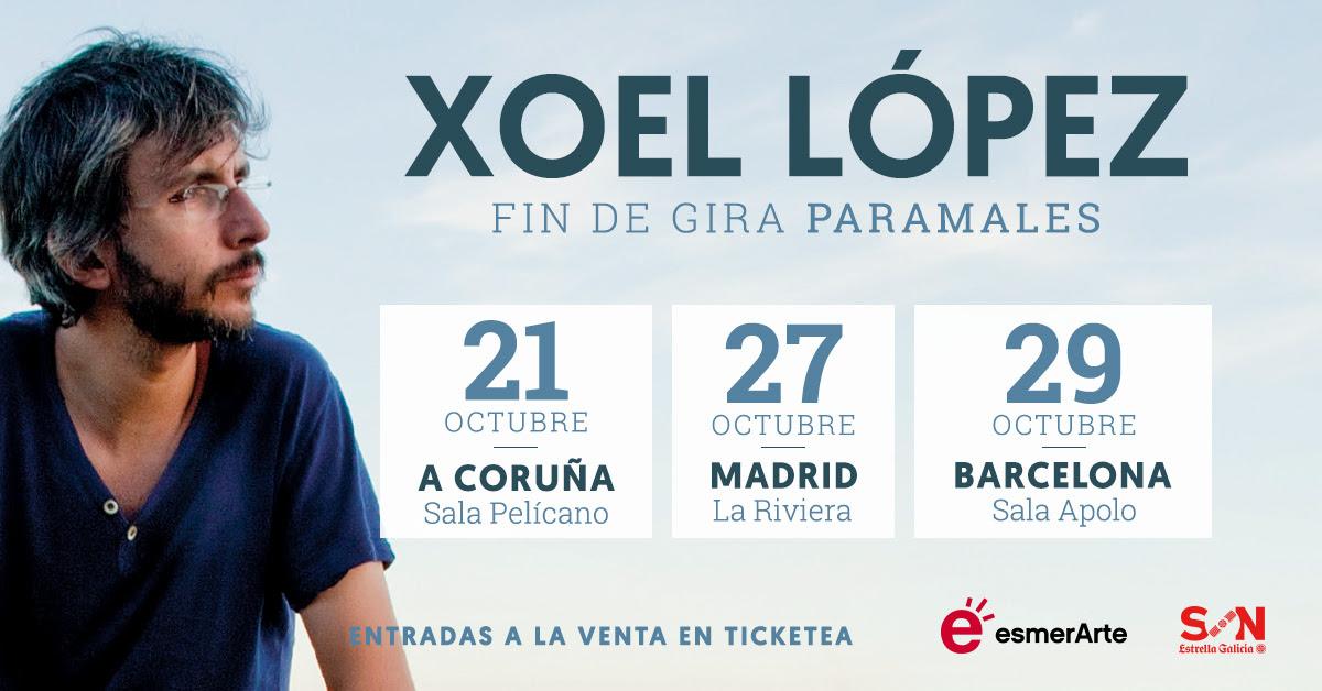 Xoel López, fin de gira Paramales