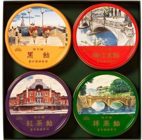 【榮太樓總本舗】 東京名所缶 4缶入