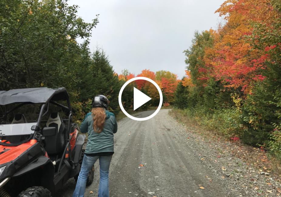 Riding the Maine ATV trails