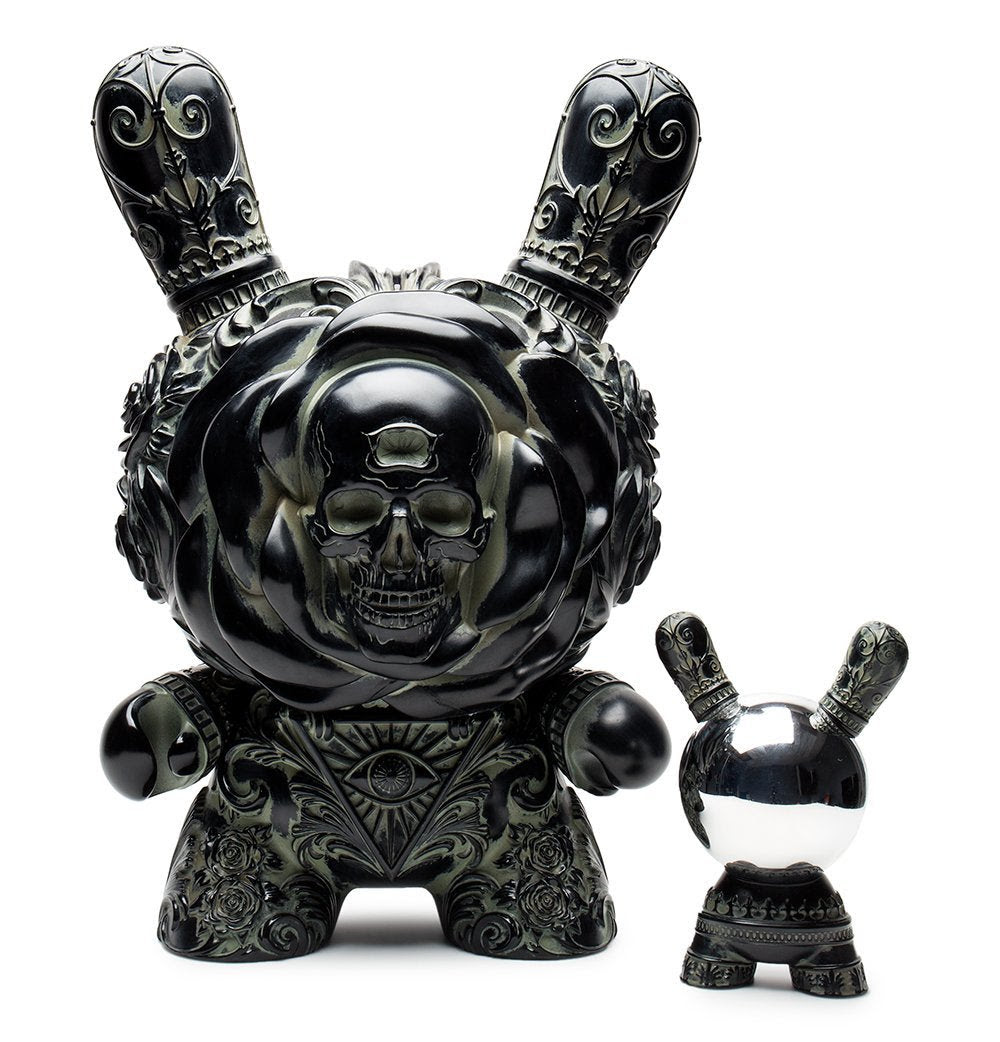 "Arcane Divination Clairvoyant 20"" Antique Black Dunny by JRYU"