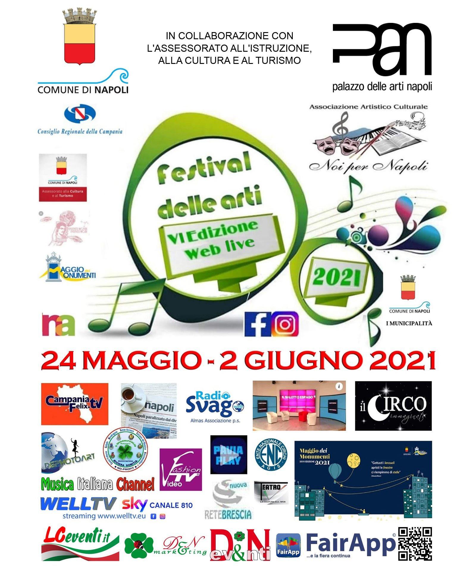 Festival delle Arti Noi per Napoli 2021