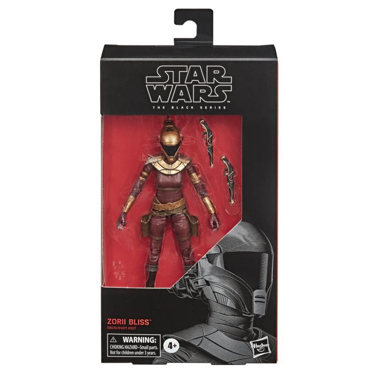 Star Wars The Black Series The Rise of Skywalker Zorii Bliss 6-Inch Action Figure image