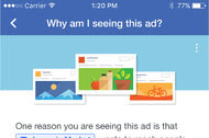 As it blocks ad blockers, Facebook is asking its users to help control the ads they see on the site.