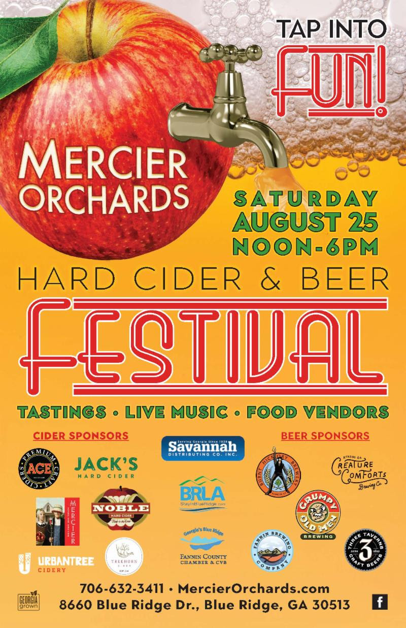 Mercier Hard Cider _ Beer Festival