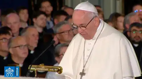 Frente al secularismo, el Papa propone una unión en clave misionera entre cristianos