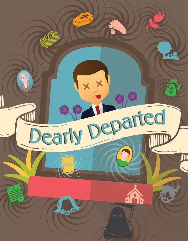 Dearly Departed poster Blue Ridge Community Theater
