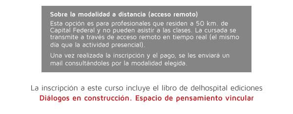 Modalidad a distancia - Libro delhospital