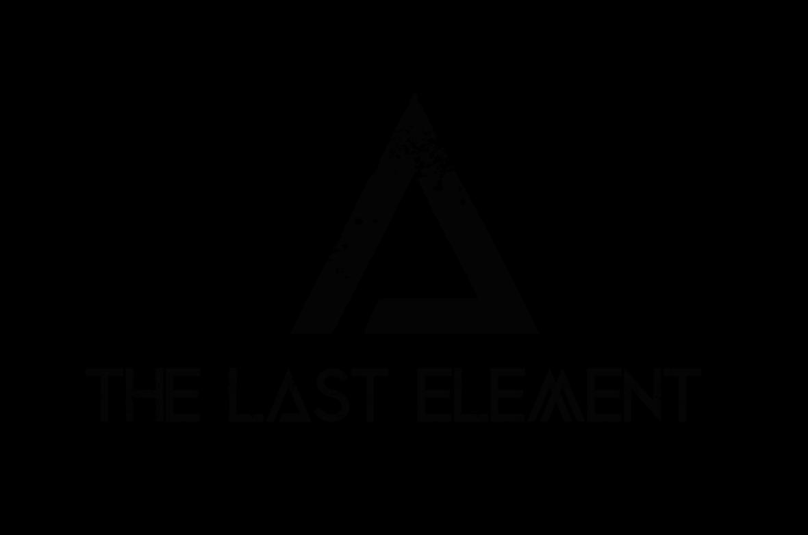 The Last Element transparent logo black