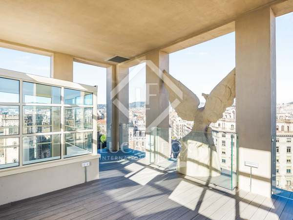 127m² penthouse with 62m² terrace for sale in Eixample