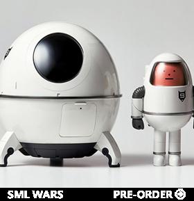 SML Wars SS 001 (Spacecraft Ver) Art Toy