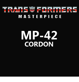 TRANSFORMERS MP-42 CORDON