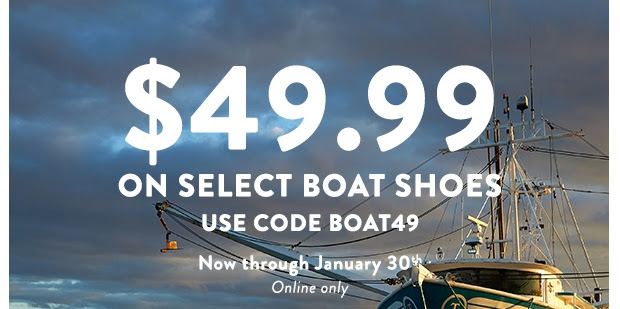 $49.99 Select Sperry Boat Shoe...