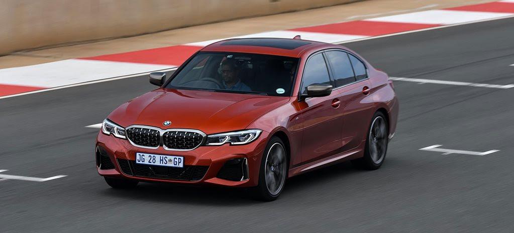 BMW M340i xDrive 2020 Red