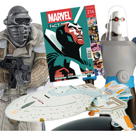 MARVEL, DC, ALIEN & PREDATOR, & MORE EAGLEMOSS