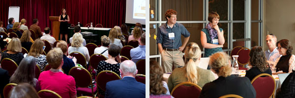 Photos of presenters at 2016 Distance Teaching & Learning Conference